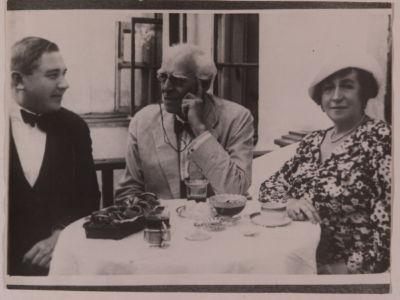 Н.С. Голованов, А.В.Нежданова и К.С. Станиславский.