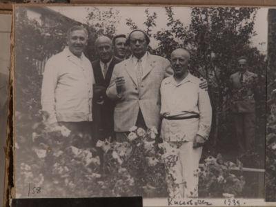 Н.С. Голованов  и А.Н. Толстой