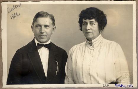 Н.С. Голованов и А.В. Нежданова